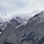The Peaks of the Ottertail Range Caught in the Morning Clouds (Yoho National Park) thumbnail