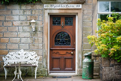 Nice frontage . Seen at Wycoller , Lancashire - June 2018 (I.T.P.) Tags: frontage wycoller lancashire