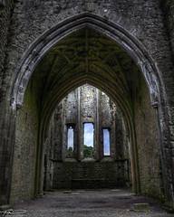 Medieval Ruin (sbadude1) Tags: church ireland ruins hdr history interior stonework architecture