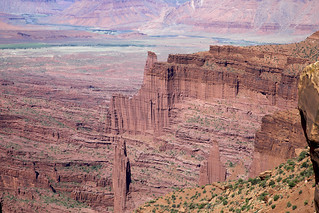 Fisher Towers & the Corkscrew