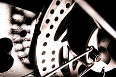 HMM: Transportation (donnicky) Tags: d850 macromondays blackbackground closeup gear home indoors macro madeofmetal mechanics metal nopeople publicsec technics transportation wheelchair