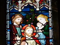 Church - St Mary, Kirkby Lonsdale 180405 [stained glass window 3b] (maljoe) Tags: church churches stmarys kirkbylonsdale stmaryskirkbylonsdale stmaryschurchkirkbylonsdale stainedglass stainedglasswindow stainedglasswindows