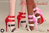 Rachel Sandals (Ashleey Andrew) Tags: garbaggio sl secondlife second life virtual world fashion apparel accessories footwear shoes original mesh shoe sandals fameshed
