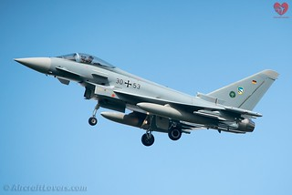 German Air Force Eurofighter EF-2000 Typhoon