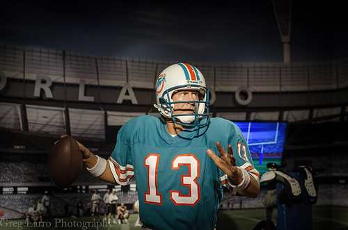 Dan Marino Wax Figure
