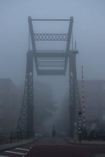 Brug in de mist - Bridge in the fog