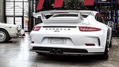 Porsche GT3 (Werner Thorenz) Tags: porschegt3 porsche gt3 sportscar racing wernerthorenz classicremise dreamcar traumauto whitecar ringlokschuppen meilenwerk thorenz düsseldorf