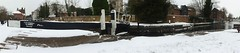 2018 03 02 005-1 KA snow panos (Mark Baker.) Tags: 2018 avon baker berkshire eu europe kennet kennetandavon lock march mark newbury britain british canal day england english european gb great kingdom outdoor panorama panoramic photo photograph picsmark snow spring town uk union united urban view