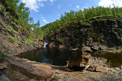 fra Ydalen (KvikneFoto) Tags: landskap natur norge hedmark kvikne elv river ya samyang mf fisheye 8mm