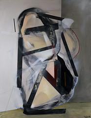 """Rozmowa w rogu"" (Mateusz Rybka Art) Tags: painting abstract abstractart silhouette mixedmedia canvas polishart polishartist poland gdansk rybka mateusz acrylic spray charcoal contemporary contemporaryart modern modernart"