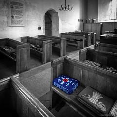 Upwaltham Church, West Sussex (louisberk.com) Tags: upwaltham church pews cushion westsussex sussex fujifilmgfx50s fujinon23mmf4