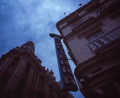 Streets of Havana - Cuba (IV2K) Tags: havana habana lahabana cuba cuban cubano habanavieja inglatera hotelinglatera parquecentral centralparque centrohavana caribbean fidel castro fidelcastro mamiya mamiya7 mamiya7ii mediumformat film analogue 120film fiji fijifilm fijivelvia velvia velvia50 fujivelvia50