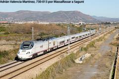 Perplejo (Adrián Valencia Martínez) Tags: renfe 730 ave massalfassar ld tren alvia electrica diesel hibrido dual