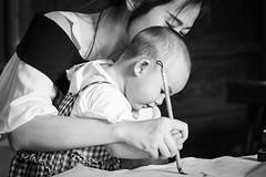 Signature (frank.gronau) Tags: schreiben zeichen malen paint signatur white black weis schwarz shanghai chinese china gronau frank woman girl baby frau