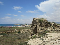Cliff formation, view to Faros Beach, Paphos Archaeological Park, Paphos, Cyprus (Paul McClure DC) Tags: πάφοσ paphos pafos cyprus may2018 scenery mediterranean