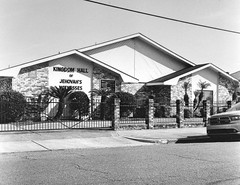 Kingdom Hall of Jehovah Witness (bongo najja) Tags: orleans new evs mx 35 rolleiflex fp4 ilford