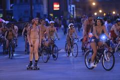 World Naked Bike Ride, Chicago (Symbiosis) Tags: worldnakedbikeride chicago chicagonakedbikeride statestreet nudists biking bikingchicago nakedbikeride wackerdrive topless wnbr publicnudity nudity