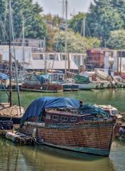 BesideDentonIsland - Copy (iankellybn26dj) Tags: uk coast harbour boats moorings creek river england sussex newhaven rustic spring summer sunlight photo hdr