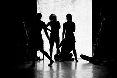 Dance Rehearsals (annemcgr) Tags: cuba trinidad theatre dance rehearsals silhouette monochrome blackwhite fineartphotography
