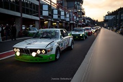 BMW 3.0 CSL (E9) (antoinedellenbach.com) Tags: worldcars car race racing circuit france motorsport eos automotive automobiles automobile racecar sport course lightroom coche photography photographie vintage historic peterauto auto canon spaclassic paddock spaclassic2018 atmosphere speed bmw csl sigma mpower light pitlane 35mm sunset