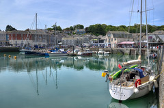 Inner harbour, Padstow, Cornwall (Baz Richardson (now away until 26 Oct)) Tags: cornwall padstow cornishharbours yachts smalltowns