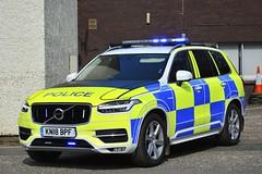 KN18 BPF (S11 AUN) Tags: police scotland volvo xc90 d5 awd traffic car demo demonstrator roads policing unit rpu motor patrols responding 999 emergency vehicle kn18bpf