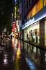 #150 Colours reflected on a rainy day (tokyobogue) Tags: nexus6p nexus 365project tokyo japan shibuya rain reflection colours
