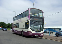 16944 Interconnect - Skegness (Hesterjenna Photography) Tags: fx06aof bus psv coach stagecoachlincolnshire stagecoacheastmidlands stagecoach interconnect skegness lincolnshire lincs volvo b7tl wright wrightbus wrightcoachbuilders eclipse gemini