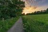 Sunset at Linlithgow (MilesGrayPhotography (AnimalsBeforeHumans)) Tags: 1635 fe1635mm sonyfe1635mmf4zaoss a7ii linlithgowpalace linlithgow path pathway field britain westlothian dusk europe evening fe f4 glow golden goldenhour haze historicscotland iconic ilce7m2 landscape lens landscapephotography loch lothians nd outdoors oss photography photo scotland scenic sky skyline sunset sunlight sunshine sonya7ii sony scottish summer sonyflickraward sunburst sunflare scottishlandscapephotography town twilight trees uk unitedkingdom village wide wideangle zeiss