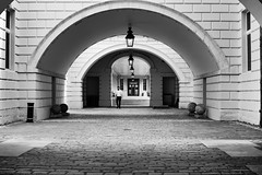 Black and White Arches (AConstandinouPhotos) Tags: greenwich arches bw