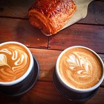 Breakfast be like chocolate croissant and coffee thumbnail
