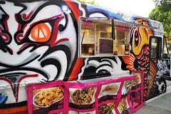 Street Art Inspired Painted Food Truck (Joey Z1) Tags: orderpickup streetartinspiredfoodtruck boldfoodtruck streetscenela vividcolors urbanscene urbanla streetart urbanart sola lafoodtruck firstthursdayartwalk firstthursdaysanpedro phokingawesome phokingawesomefoodtruck colorsofthestreet polychromatic pentaxks1 bylaphotolaureatejoeyzanotti