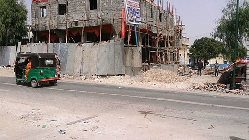 New hotel under construction in Borama