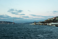ILCE-7182 (Sepistö) Tags: seaofmarmara bridge strait ship bosporus istanbul turkey sea tr