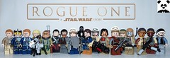Rogue One: A Star Wars Story (Random_Panda) Tags: lego figs fig figures figure minifigs minifig minifigures minifigure purist purists character characters films film movie movies tv show shows television star wars clone rebels rebellion empire jedi sith imperial scout trooper storm stormtrooper rogue one jyn erso cassian k2 k2so baze malbus chirrut imwe bodhi rook