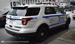 2018 NYPD FPIU 4409 (nyfrp) Tags: nypd new york police department nyc ny state fleet week navy marines army car fpiu fpis chevy impala ford interceptor utlity sedan polaris atv ambulance downtown manahttan west intrepid aircraft carrier street parked officers policecar policedepartment