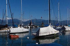 Morges Harbor (Bephep2010) Tags: 2016 77 alpha genfersee hafen lacléman lakegeneva morges sal1650f28 slta77v schiff schweiz see sommer sony switzerland vaud waadt wasser boat harbor harbour lake ship sonnig summer sunny water ch
