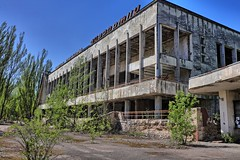 City Center (Ray Cunningham) Tags: pripyat ukraine при́пять nuclear disaster chernobyl