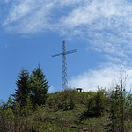 Cross @ Summit of Tête du Danay @ Hike to Tête du Danay @ La Clusaz thumbnail