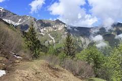 Mex (bulbocode909) Tags: valais suisse mex montagnes nature printemps paysages forêts arbres nuages neige sentiers vert bleu groupenuagesetciel
