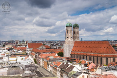 Typically MUNICH: Dom (mkarwowski) Tags: munich frauenkirche bavaria germany travel city cityscape rooftops church cathedral canonefs24mmf28stm efs24mmf28stm canon eos 80d canoneos80d eos80d