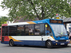 Stagecoach Midlands Optare Solo 47418 KX55 PGO (Alex S. Transport Photography) Tags: bus vehicle outdoor road stagecoach stagecoachmidlandred stagecoachmidlands optare optaresolo solo route34a 47418 kx55pgo
