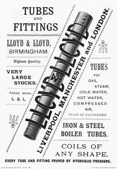 L&L Tubes & Fittings. 1894 (sadiron16) Tags: lloyd tubes pipes iron steel birmingham