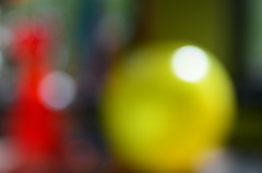 ReD and YelloW (*suika *) Tags: abstract colours bokeh macro tam9 circle outoffocus