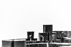 Ideas (mathieuo1) Tags: chicago usa explore city discover district art institute construction block blackandwhite black blur bnw america illinois form geometry shape lego metal mesh composition detals square fineart artistic abstract nikon museum mathieuo
