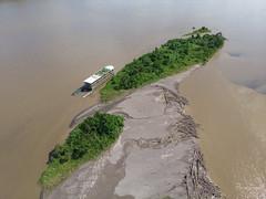 Dronepix above Rio Napo, Ecuador (Pierre Lesage) Tags: pierrelesage kapstock dronepix ecuador manateecruiseexplorer rionapo amazonia jungle rainforest mavicair