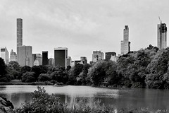 New York City - USA (b_kohnert) Tags: blackandwhite schwarzweis monochrome einfarbig city newyork usa