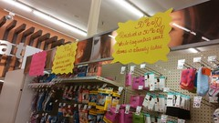 Cosmetics Clearance and Décor (Retail Retell) Tags: kroger clarksdale ms closing closure liquidation sale january 2018 greenhouse 2012 bountiful décor package remodel former millennium store coahoma county retail
