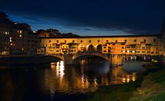 ponte vecchio (poludziber1) Tags: street skyline sky city colorful cityscape color urban blue bridge firenze florence italy italia river