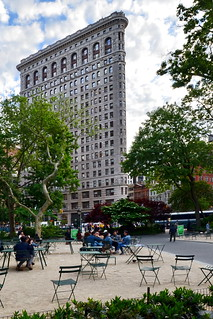NYC Flatiron, Madison Square Park